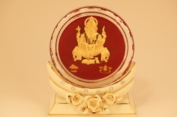 Ganesh Ji 24 karat gold.