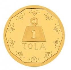 Tola Gold Coin 24kt 11.663g