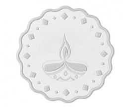 50g 999 Silver Coin  Diya