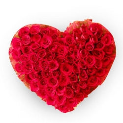 120 Roses Precious Heart