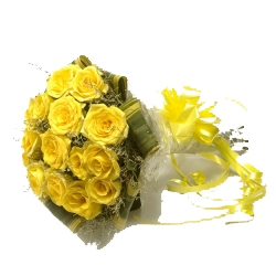 Yellow Eternal Purity 20 Roses