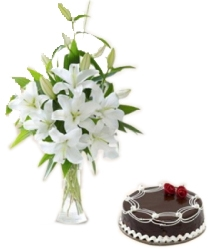 White Lilly & cake