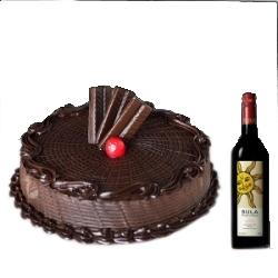 Cake N Wine Combo