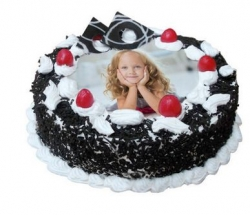 Black Forest Photo Cake