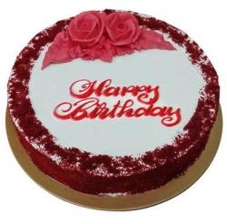 Red Velvet Birthday Cake Half Kg