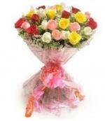 30 Mix Colour Roses