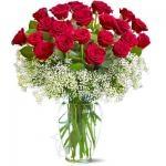 In Love 24 Red Roses