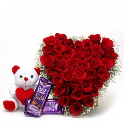 Romantic Love 50 Roses