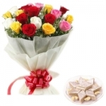 10 Mix Rose N Delicious Kaju Barfi