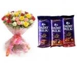 Mix Roses N Silk
