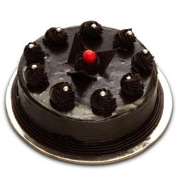 1 KG Eggless Chocolate Truffle cake