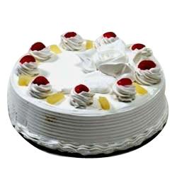 1 KG Eggless Pineapple Cake.