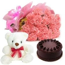 Choco with carnation