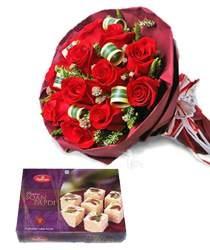 10 Roses N Soan Papdi