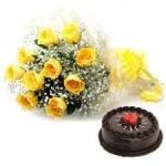 Glory Wish Cake N Flower