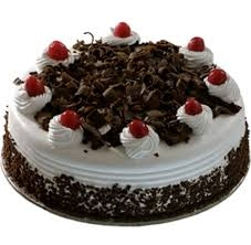 Delicious Black Forest Cake 1Kg