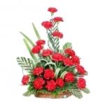 20 Carnation Basket