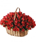 Arrangement Of 100 Roses