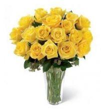Yellow Delight In Vase