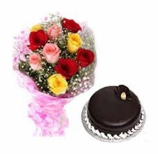 Love To Follow With Cake N Roses