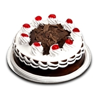 1 Kg Eggless Black Forest Cake