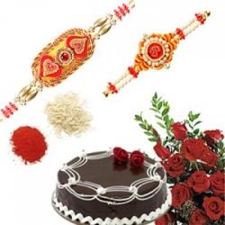 Rakhi Cake