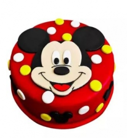 Mickey Mouse Cake 1kg Chocolate