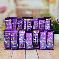 Dairy Milk Silk Hamper