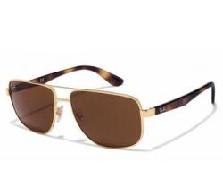 RAY BAN Mens Aviator UV protected Sunglasses