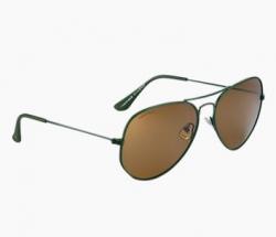 FASTRACK Brown Aviators Sunglass For Men