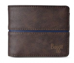 BAGGIT Mens Synthetic leather 1 Fold Wallet
