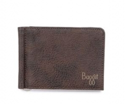 BAGGIT Mens Leather 1 Fold Wallet