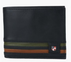 U.S. POLO ASSN. Mens Leather 1 Fold Wallet