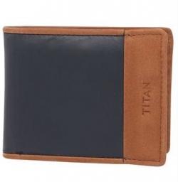 TITAN Mens 1 Fold Wallet