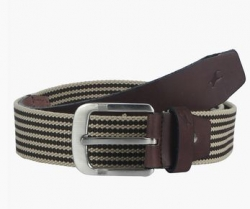 FASTRACK Mens Canvas Buckle Closure Casual Belt