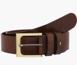 ALLEN SOLLY Mens Leather Formal Belt