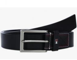 TOMMY HILFIGER Mens Leather Buckle Closure Formal Belt