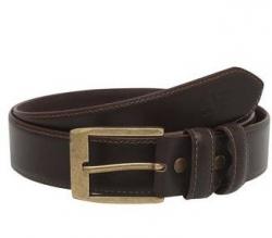 LIFE Mens Leather Buckle Closure Formal Belt