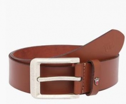 LOUIS PHILIPPE Mens Leather Buckle Closure Casual Belt