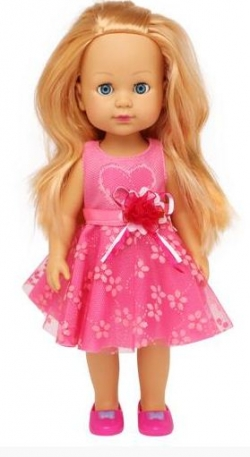 LIFE Girls Doll with Pick Frock