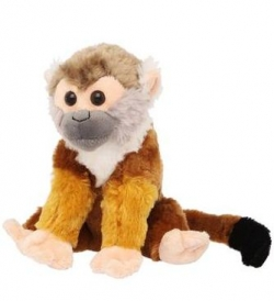 WILD REPUBLIC Unisex Ck Mini Squirrel Monkey Soft Toy