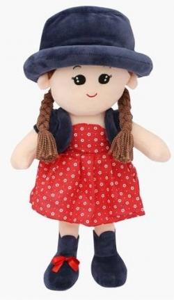 HAPPINESS Girls Round Cap Doll