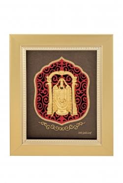 Tirupati Balaji  24 karat gold.
